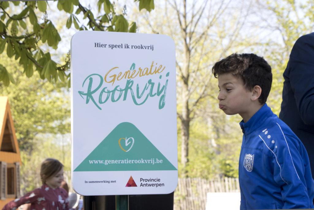 Rookvrij Groendomein vrijbroekpark Mechelen