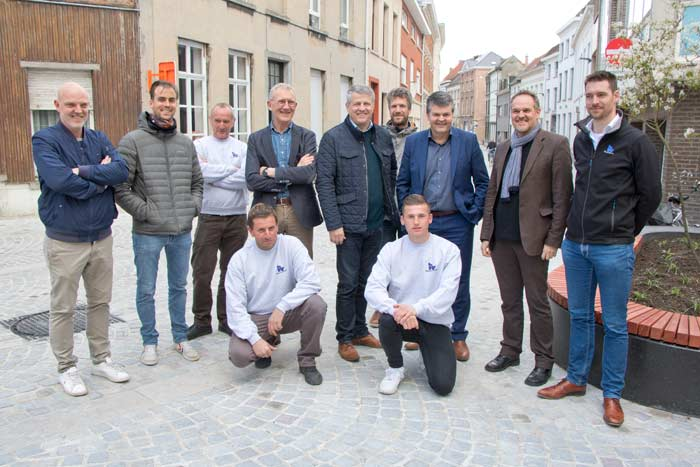 Augstijnenstraat Mechelen heraangelegd