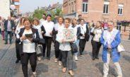 Ingetogen Hanswijkprocessie trekt door Mechelen