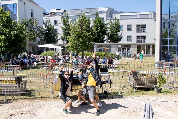 Radio Botanique draait voor woonzorgcentrum Hof van Egmont