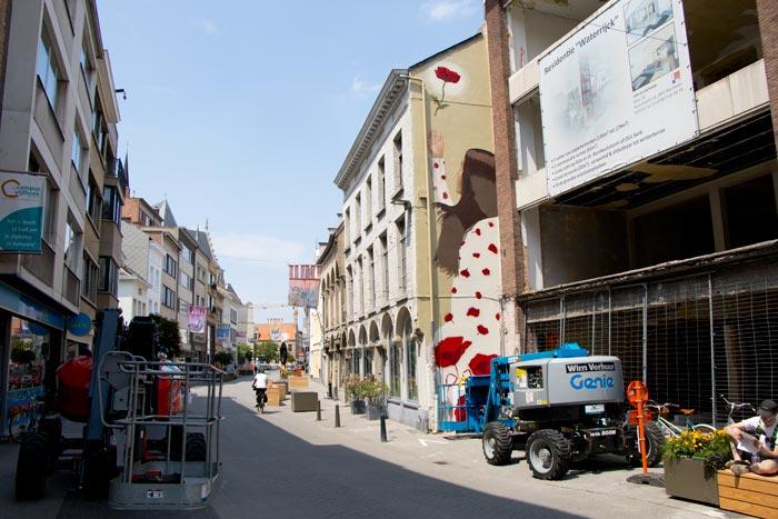 Street Art Onze-Lieve-Vrouwestraat Mechelen