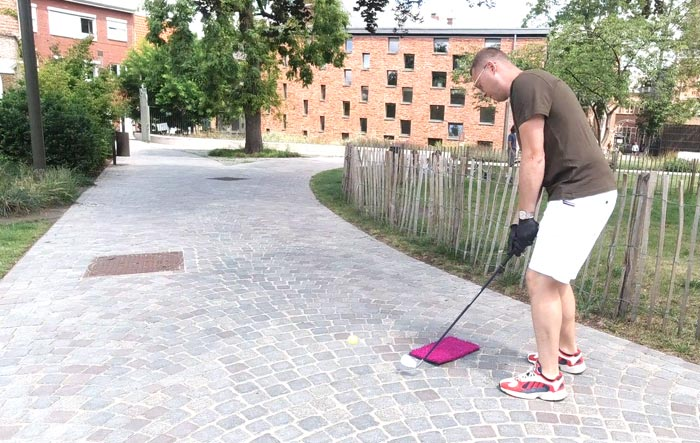 City Golf Tours in Sinte-Mettetuin stad Mechelen