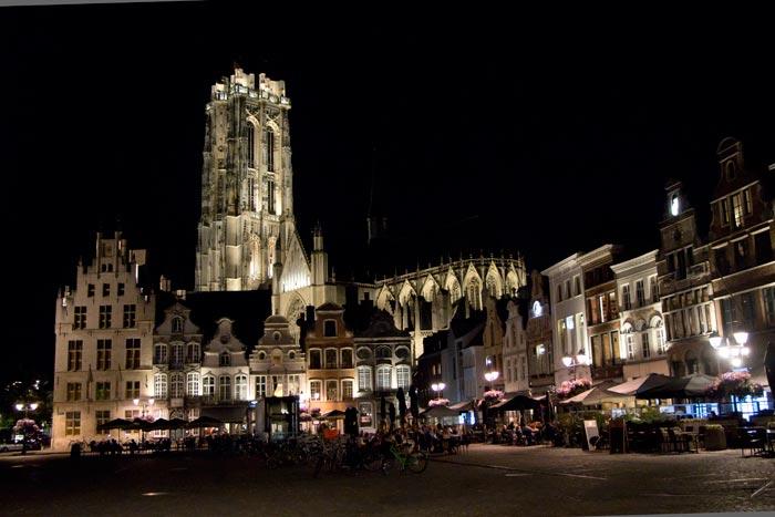 Nieuwe energiezuinige ledverlcihting in Mechelen