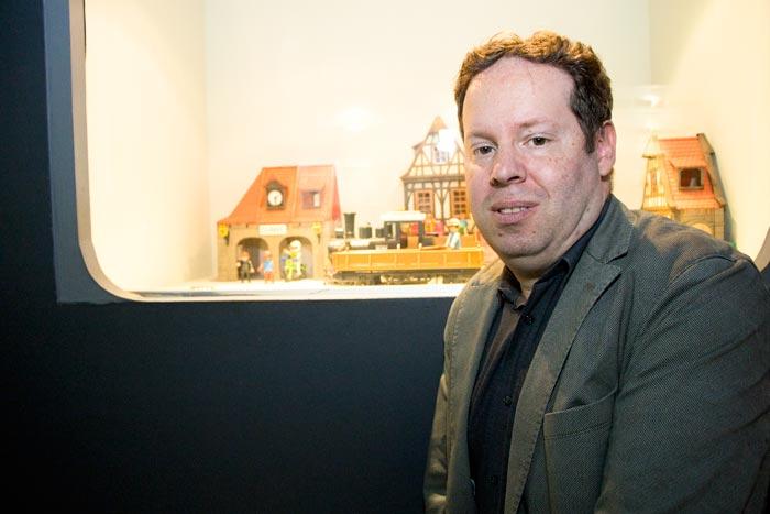 Bart Stroobants (voorzitter Raad van Bestuur Speelgoedmuseum vzw Foto Verschueren Eddy (Mechelen op zijn Best)