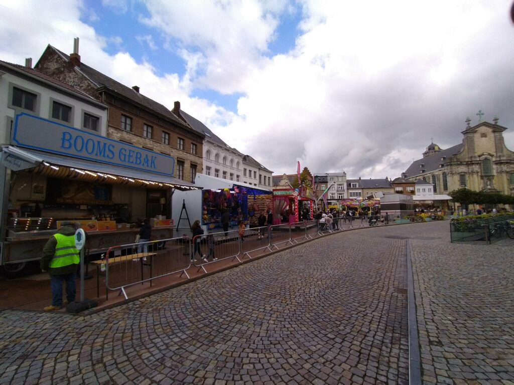 Herfstkermis aan de Veemarkt Foto Verschueren Eddy (Mechelen op zijn Best)