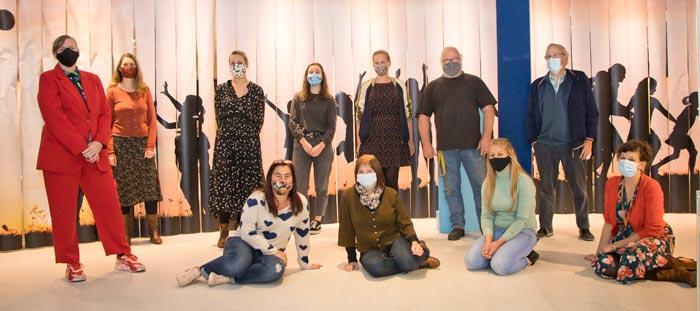 Het team van Speelgoedmuseum Mechelen Foto Verschueren Eddy (Mechelen op zijn Best)