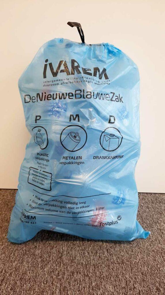 De Nieuwe Blauwe Zak voor alle plastics Mechelen